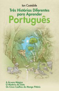 Três Histórias Diferentes para Aprender Português - book cover and link